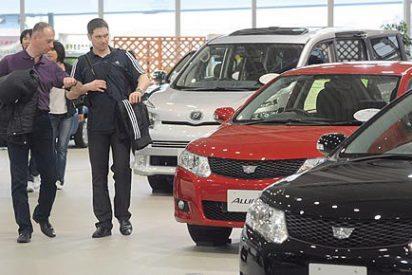 La venta de coches cae en mayo un 8,2% respecto a 2011