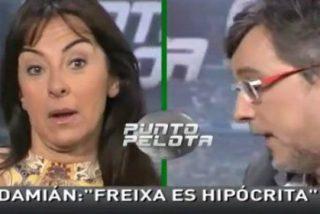 "José Damián González carga contra Toni Freixa en 'Punto Pelota': ""Es un hipócrita"""