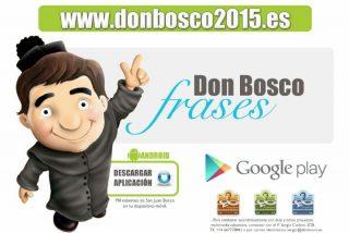 Don Bosco en el teléfono móvil
