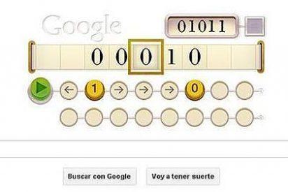 Turing, homenajeado con un doodle que invita a pensar