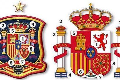 Los nueve errores que hay en el escudo de la camiseta de España