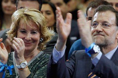 Esperanza Aguirre marca el camino que deberían seguir Rajoy y el PP