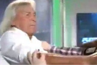 """El show del 'Loco' Gatti anima 'Punto Pelota': """"¿Julio Ariza no ve esto? ¿Está escondido? Yo me voy a poner como presidente de Intereconomía y creo que gano"""""""