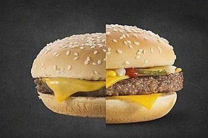 Mi hamburguesa no se parece a la de la publicidad