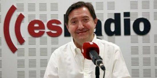 """Jiménez Losantos: """"El PP, cuando no sabe a quién nombrar para un cargo, pone a Buruaga"""""""
