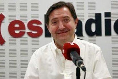 """Losantos rompe la tregua contra Rajoy: """"El Gobierno se pone en plan peronista y está sencillamente tonto"""""""