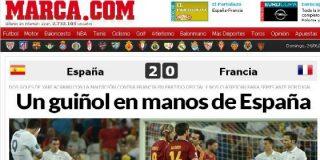 """'Marca' se acuerda de Canal+ Francia: """"Un guiñol en manos de España"""""""