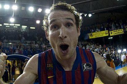 Marcelinho Huertas encestó su triple desde 10,32 metros y a 21 km/h