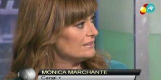 """Mónica Marchante: """"Me parece alucinante que no penséis que entre ellos en una concentración se dicen estas cosas a la cara"""""""