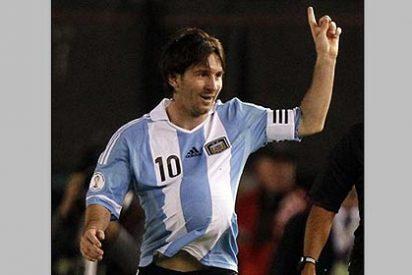 Leo Messi marca goles en todos lados y ya anticipa que va a ser padre