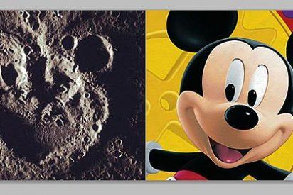 La NASA encuentra las 'huellas' de Mickey Mouse en Mercurio