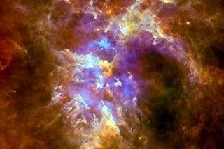 Las burbujas gigantes se exhiben en la Nebulosa Carina