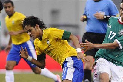 La selección de México finiquita la buena racha de Brasil con un 2-0