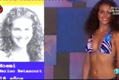"""Noemí ('GH12+1') ya no puede más: explota contra Mercedes Milá mientras que sale a la luz su """"turbio"""" pasado en el certamen de Miss Lanzarote"""