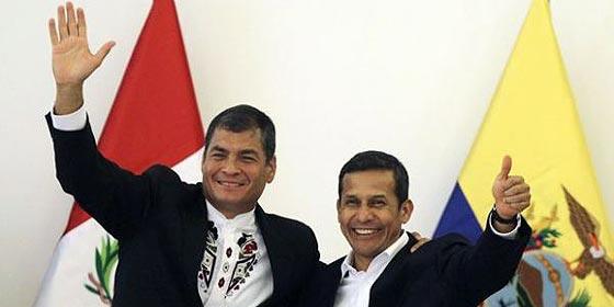 Los hermanos 'raros' de Rafael Correa y Ollanta Humala