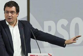 """Óscar López: """"Es curioso que el PSOE se tenga que enterar por los periodistas del candidato a dirigir RTVE"""""""