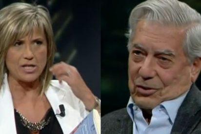 "Vargas Llosa a Otero: ""Me gustaría más que te gustasen mis libros que mis ojos o mi sonrisa"""