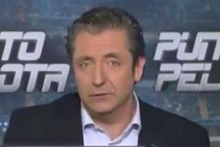 """Josep Pedrerol reconoce que el árbitro favoreció a España: """"Llego a ser croata y en el 'Punto Pelota' de hoy incendiamos el césped por los dos penaltis que nos tangaron"""""""