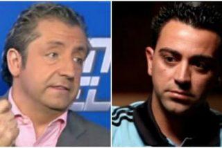 """Josep Pedrerol enjuicia a Xavi: """"¿Es oportuno meterte con un compañero que va a jugar contigo la Eurocopa?"""""""