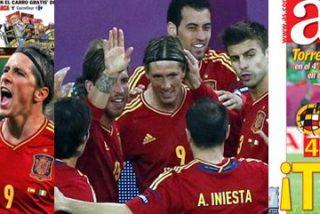 Torres reconquista las portadas de 'AS' y 'Marca' a base de goles