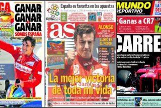 El diario 'Sport' se apoya en el morbo: