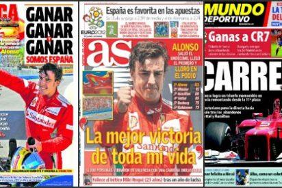 """El diario 'Sport' se apoya en el morbo: """"Culés y madridistas unidos para echar a Cristiano"""""""