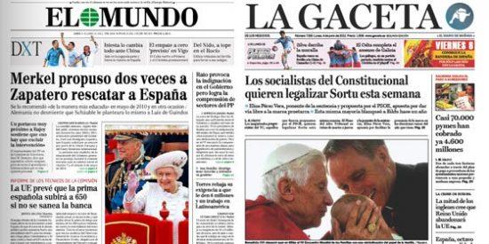 Otra semana de miedo en España: Merkel le propuso a ZP la intervención de España