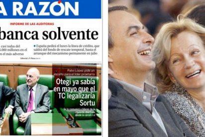 La Razón da la razón a Zapatero: la banca es solvente