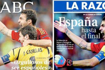 ABC y La Razón clonan sus portadas: ¿tienen espías en sus redacciones?