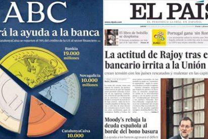 Las dos Españas de papel periódico: la prueba del algodón con ABC y El País