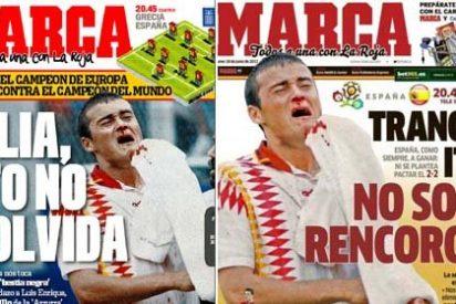 """La evolución de 'Marca' en cuatro años: de clamar 'vendetta' contra Italia en 2008 a asegurar ahora que """"no somos rencorosos"""""""