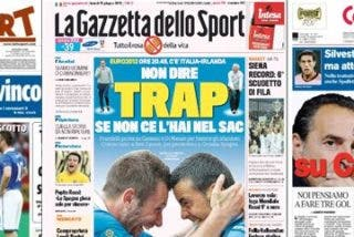 La prensa italiana se pone la venda antes de la herida y muestra sus temores por un posible pacto entre España y Croacia