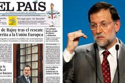 """El País pone en evidencia a Rajoy por """"irritar"""" a Merkel colgándose la medalla del rescate"""