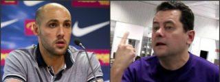 """Javi Rodríguez (Barça) se acuerda de Roncero tras ganar la liga de fútbol sala: """"Si eres tan merengue, dile a tu amigo Florentino Pérez que haga un equipo"""""""