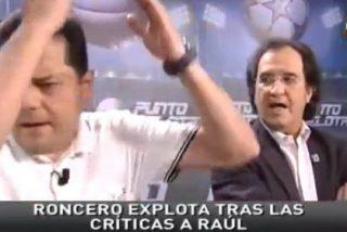 El sempiterno debate sobre Raúl y la Selección hace explotar a Roncero: