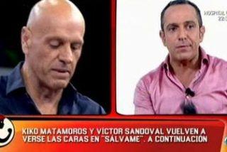"""Víctor Sandoval se mofa de la mujer de Kiko Matamoros: """"Es un florero y por eso, la Campos la quitó de su programa"""""""