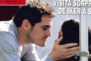Iker Casillas sorprende a Sara Carbonero con una visita sorpresa en su jornada de descanso
