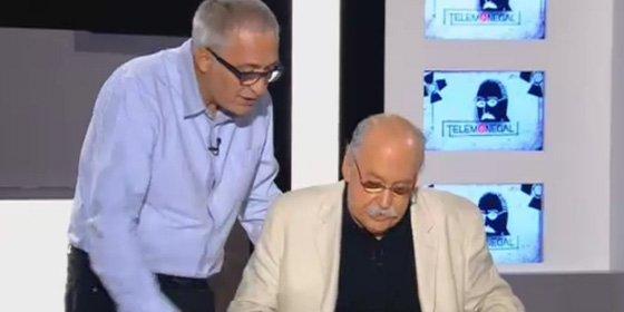"""Sardá se zampa a Monegal: """"He venido porque eres un toca-cojones y es tu último programa"""""""