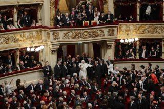 El Himno a la Alegria resonó más fuerte en presencia del Papa