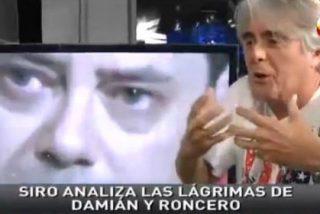 """Siro López rememora las lágrimas de José Damián González y demuestra su actuación: """"Siempre mira dónde está la cámara para hacer el numerito"""""""
