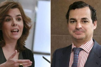 El encargo de Soraya a Echenique para RTVE: austeridad, producción propia y adelgazar la plantilla