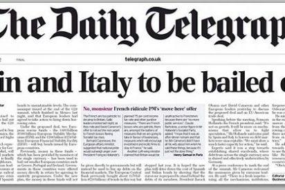 La prensa británica da por hecho el rescate de España e Italia
