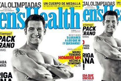 La espectacular transformación de Manu Tenorio en Men's Health