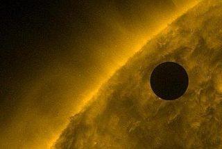 Esta es la impresionante imagen captada por Parker de Venus