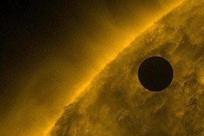 El vídeo más impactante del tránsito de Venus por delante de el Sol