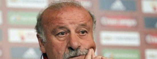 "Vicente del Bosque: ""Nunca nos vamos a arrepentir por no echar a Italia"""