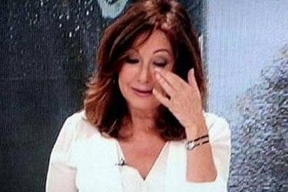 Ana Rosa rompe a llorar en pantalla por la muerte de Pedro Rodríguez