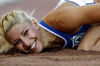 La campeona griega de triple salto, expulsada de los JJOO por 'racista'