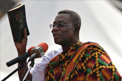 Condolencias de la Iglesia católica de Ghana por la muerte del presidente