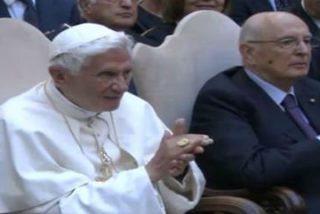 """Benedicto XVI: """"La armonía de la música nos enseña la paz"""""""